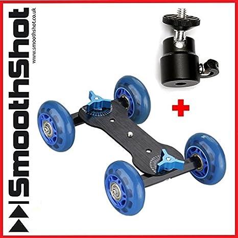 Cámara Dolly coche rueda Roller Skater deslizante cámara con ...