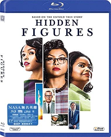 Poster of Hidden Figures 2016 Full Hindi Dual Audio Movie Download BluRay 720p