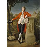 Oil painting 'Batoni Pompeo Francis Basset I Baron of Dunstanville 1778 ' printing on high quality polyster Canvas , 12 x 17 inch / 30 x 44 cm ,the best Laundry Room decor and Home gallery art and Gifts is this Imitations Art DecorativePrints on Canvas