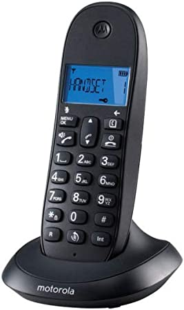 Motorola MOT31C1001B, Teléfono Inalámbrico, Blanco: Amazon.es: Electrónica