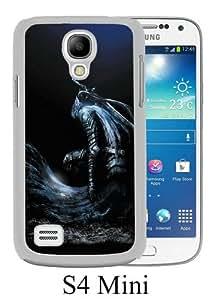 Samsung Galaxy S4 Mini case,Unique Design Dark Souls Prepare to Die Edition White cell phone case for Samsung Galaxy S4 Mini