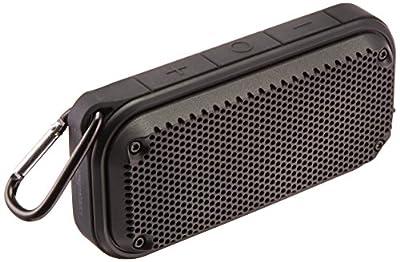 AmazonBasics Shockproof and Waterproof Bluetooth Wireless Speaker