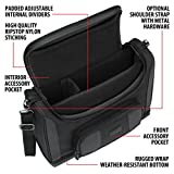 USA GEAR Small Messenger Bag Compatible with