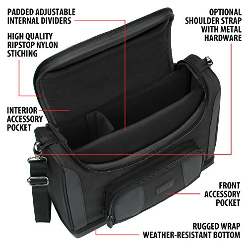 USA Gear Dungeons & Dragons Compact Travel Bag for D&D Player's