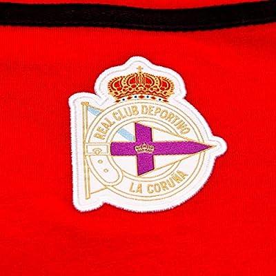 Macron RC Deportivo La Coruña 2018-2019 Niño, Polo, Red-Black ...