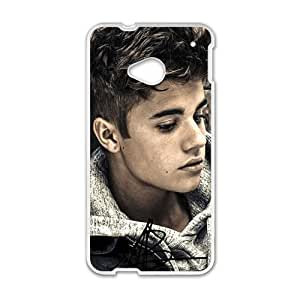PoP Star Justin Bieber Cell Phone Case for HTC One M7