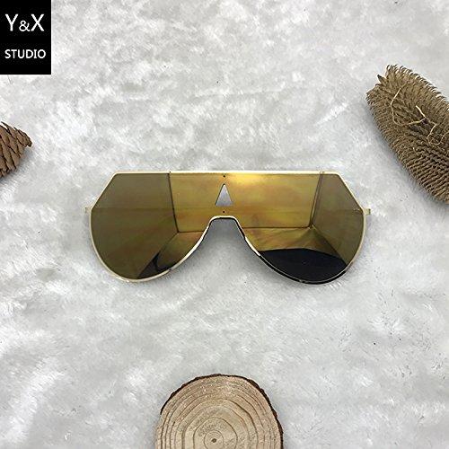 Macho Marco Xue De Sol De Hembra Chasis oro Gafas zhenghao Gafas De Blanco Y Grande Sol de xq60rvpwqg