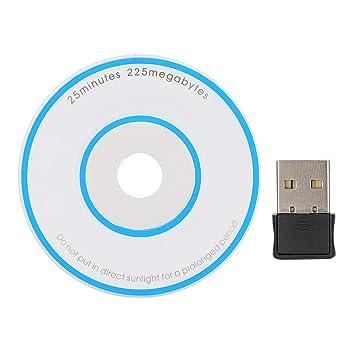Wendry Tarjeta de Red USB, Adaptador WiFi 2.4-2.4835GHz WiFi ...