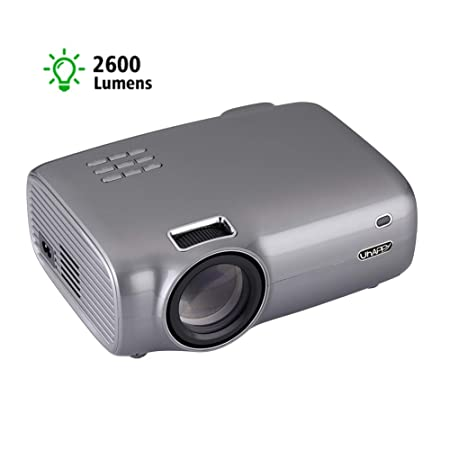XRLTYY Proyector LED Pico, 1080P HD, Función de Volteo de ...