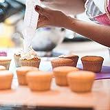 Cake Decorating Tool Set with 8 Nozzles White Cake Nozzles Piping Syringe Baking Supplies