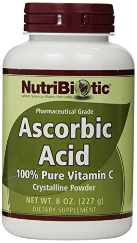 Ascorbic Powder Acid - Nutribiotic Ascorbic Acid Powder, 8 Ounce