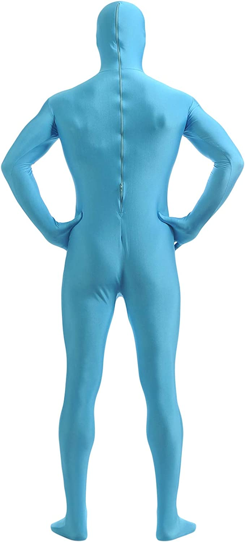 Insun Spandex Open Face Full Bodysuit Zentai Suit for Adults Children