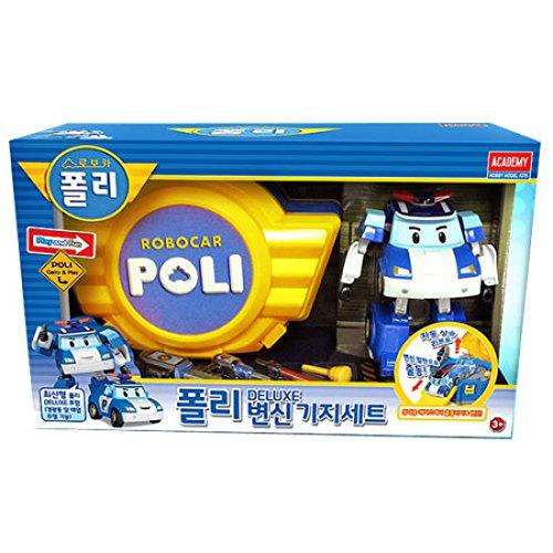 ロボカーフォリフォリ変身基地セット(Robocar poli)