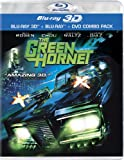 The Green Hornet (3D Blu-ray + Blu-ray + DVD)