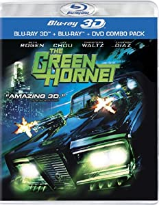 Cover Image for 'Green Hornet (Three-Disc Combo: Blu-ray 3D / Blu-ray / DVD), The'
