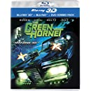 The Green Hornet (3D Blu-ray + Blu-ray + DVD)