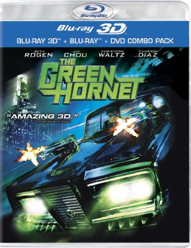 The Green Hornet (3-D Blu-ray + Blu-ray + DVD)