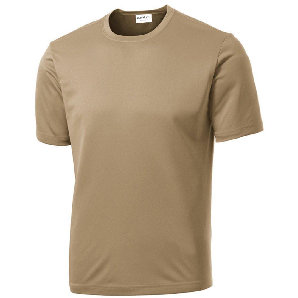 Mens Tall Long Sleeve Moisture Wicking T-Shirt LT XLT 2XLT 3XLT 4XLT Base Layer