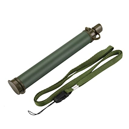 Four-stage Filtration Water Purifier Outdoor Camping Hiking Emergency Life Survival Portable Purifier Water Filter Straw Gear #a Easy To Use Camping & Hiking
