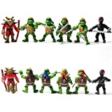 Teenage Mutant Ninja Turtles Tmnt Action Figures Toy New Classic Collection Mini by Action Figures