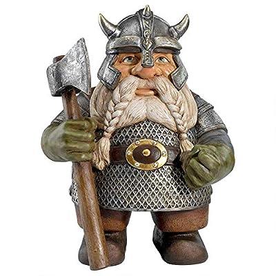 Design Toscano Viking Victor Norse Dwarf Gnome Statue : Garden & Outdoor
