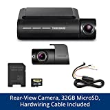 THINKWARE F800PRO Front & Rear Dash Cam Bundle Full HD 1080p Sony STARVIS, Hardwiring Cable, 32GB MicroSD Card Included, Built-in WiFi & GPS