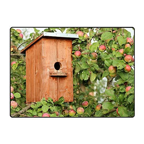 Birdhouse Gator - XIOZURV Custom Doormats Birdhouse Entrance Mat Floor Rug Indoor/Outdoor/Front Door/Bathroom Mats Rubber Non Slip
