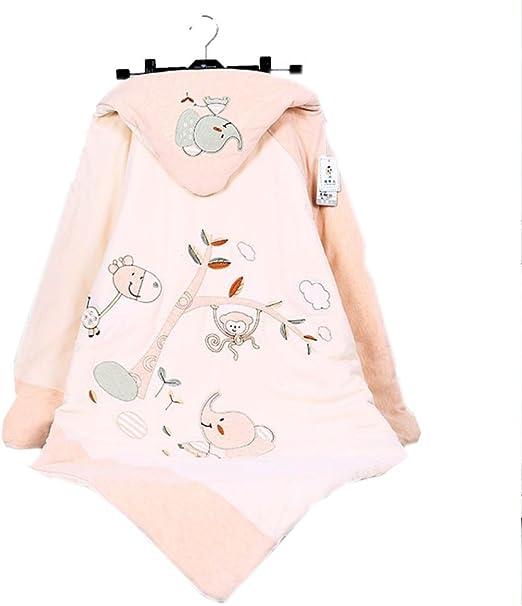 TUWEN Abrazo De Saco Color Natural Algodón Bebé Es Envuelta por Los Niños Y Niñas Lavado Algodón Sandwich Bebé De Dibujos Animados como: Amazon.es: Jardín