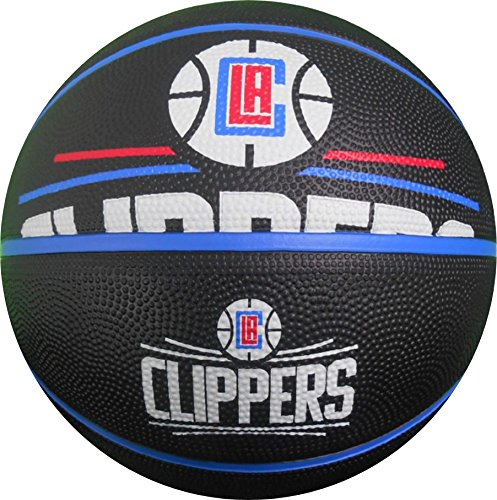 Spalding NBA Los Angeles Clippers Team Logo Basket Ball, 29.5