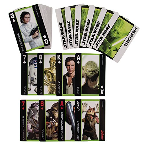 Star wars playing cards heros