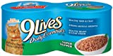 9 Lives Daily Essentials Super Supper, 5.5-Ounce Cans (Pack of 24), My Pet Supplies