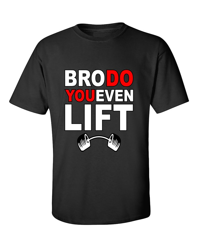 Bro Do You Even Lift Funny Ness Gym Workout Motivation Tshirt