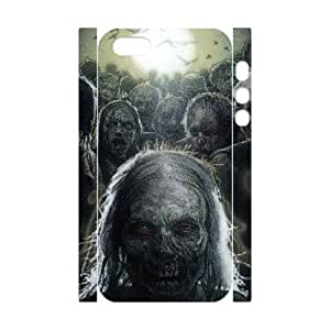 D-PAFD Cell phone Protection Cover 3D Case The Walking Dead For Iphone 5,5S