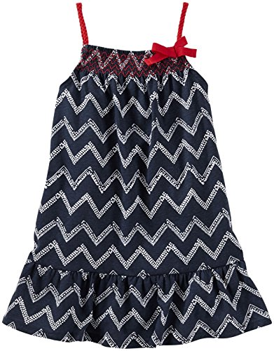 Oshkosh Kids Dress (OshKosh B'Gosh Girls' Knit Dress 21294210, Print, 2T)