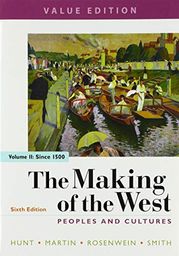 The Making of the West, Value Edition, Volume 2: Peoples for sale  Delivered anywhere in USA