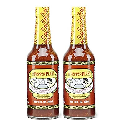 The Pepper Plant Original California Style Hot Pepper Sauce 2-pack from Blossom Valley Foods