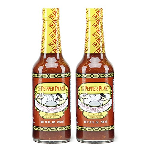 The Pepper Plant Hot Sauce, Original, 10 Oz (Pack of 2) (California Trees Pepper)