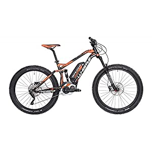 515ROovNd0L. SS300 WHISTLE Mountain Bike elettrica eBike B-Rush Plus Motore Bosch CX Cruise 400 Wh Purion 10 velocità Colore Nero/Arancio…