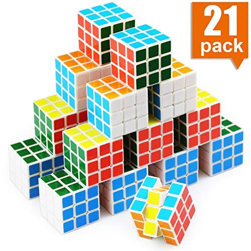 21 Pack Mini Cubes Set, 1.18