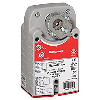 honeywell ms8105a1030 spring return actuator damper motor 44 on off electronic component. Black Bedroom Furniture Sets. Home Design Ideas