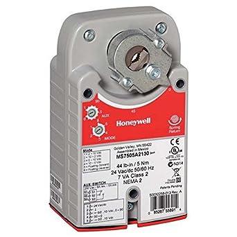 Honeywell ms8105a1030 spring return actuator damper motor for Honeywell damper control motor