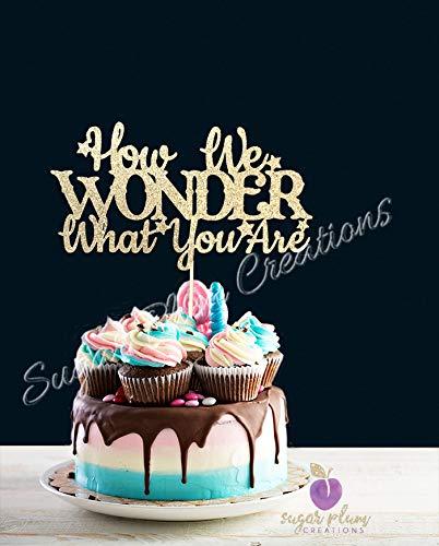 Amazon.com: How We Wonder What You Are Decoración para Tarta ...