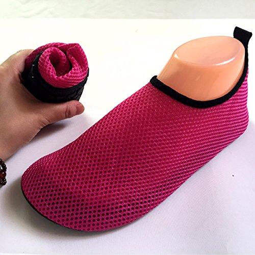 Mily Heren Mesh Schoenen Voor Dames Water Slip-schoenen-lichtgewicht, Casual, Comfortabel Rood