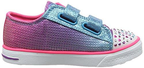 Skechers Mädchen Toes-Twinkle Breeze Sneakers Multicolor (Mult - Multi)