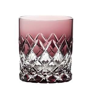 Cristal Arnstadt - vaso de whisky - 9 3263 - - Venecia - Amatista