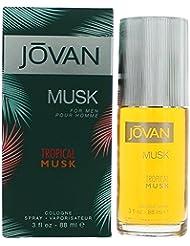 Jovan Tropical Musk for Men 3.0 oz Cologne Spray