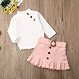 Toddler Baby Girl Knitted Long Sleeve Pompom