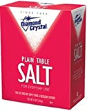 Diamond Crystal Plain Table Salt Kosher For Passover 64 Oz. Pk Of 6.