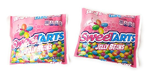 SweeTarts Jelly Beans, Easter Candy Treats, 5.4 oz bags (Easter Tart)