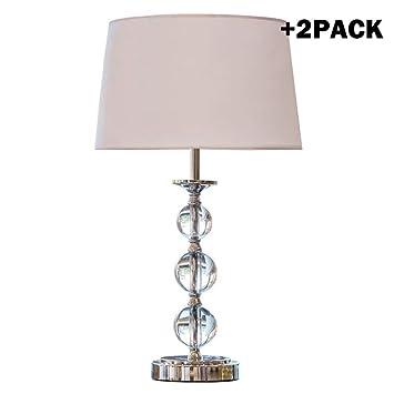 Lampe de Table en Cristal Minimaliste Moderne, Lampe de